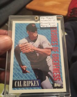 1994 Topps  Measure Of Greatness-#604 (2)
