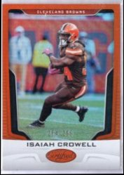 2017 Panini Certified Isaiah Crowell