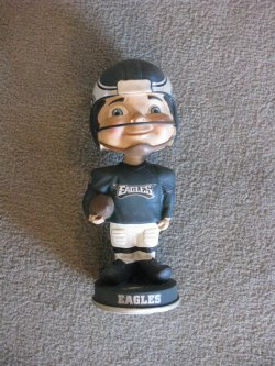 Forever Collectibles Philadelphia Eagles Retro Bobblehead
