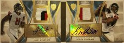 2014 Topps Supreme Dual Autograph  Julio Jones / Roddy White