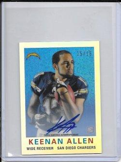 2013 Topps Chrome 1959 Refractor Autograph - Keenan Allen