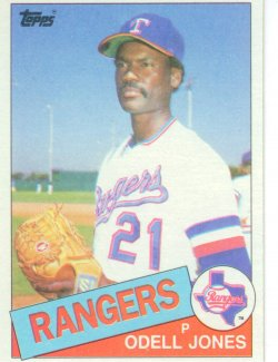 1985 Topps Topps Chewing Gum Odell Jones - P