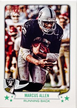 2013 Topps Magic Mini Marcus Allen