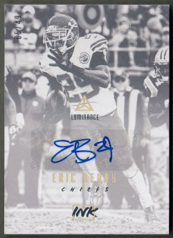 2018 Panini Luminance Ink Gold Eric Berry