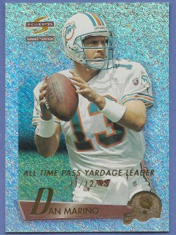 1995 Score Summit Ground Zero parallel Dan Marino