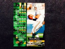 1996  Pinnacle Zenith Dan Marino #Z1 Back