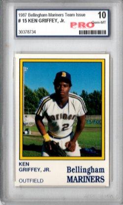1987  Bellingham Mariners Ken Griffey, Jr.