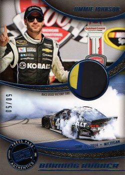 2014 Press Pass Burning Rubber Jimmie Johnson