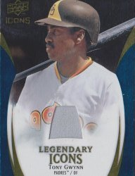 2009 Upper Deck Icons Tony Gywnn