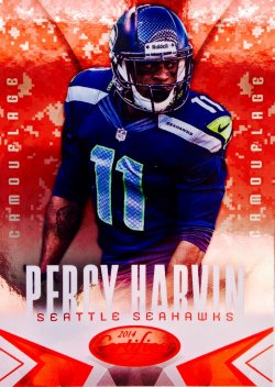 2014 Panini Certified Hot Box Camouflage   Percy Harvin