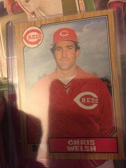 1987 Topps  Chris  Welsh