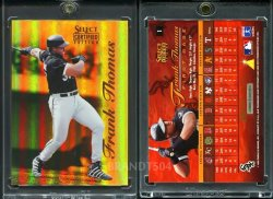 1996  Select Certified Mirror Gold Frank Thomas