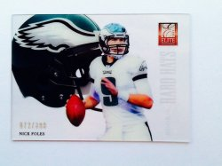 2012 Panini Elite Rookie Hard Hats Nick Foles #26