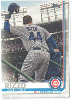 2019 Topps Photo Variation SP Anthony Rizzo