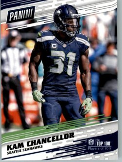 2017 Panini Top 100 Players Kam Chancellor