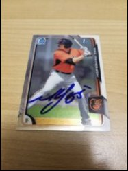 2015 Bowman Chrome Prospects  Mike Yastrzemski IP Auto
