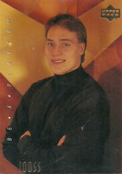 1994 Upper Deck NHLPA/Be A Player Selanne (Iooss Collection)