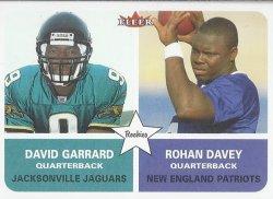 2002 Fleer Tradition David Garrard / Rohan Davey