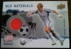 2009 Upper Deck MLS Materials Taylor Twellman
