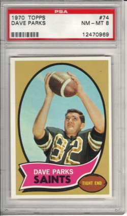 1970 Topps  Dave Parks