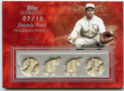 2008 Topps Sterling Jimmie Foxx Moments