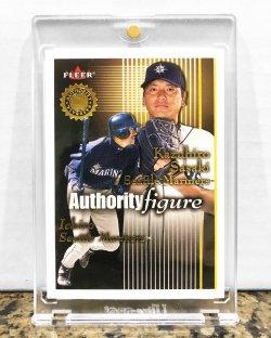 2001 Fleer Authority Ichiro Suzuki /1750