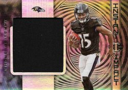 Marquise Brown 2019 Panini Illusions Instant Impact Relic