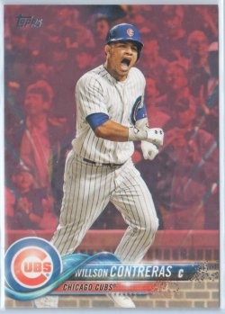 2018 Topps Mothers Day Pink Willson Contreras