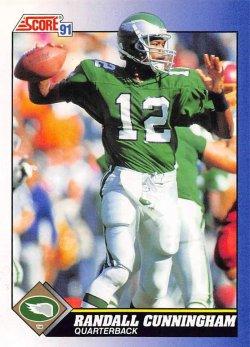 1991  Score Randall Cunningham