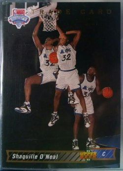 1992-93 Upper Deck  Shaquille ONeal trade card