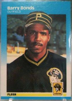 1987 Fleer  Barry Bonds