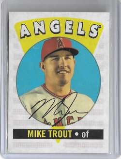2017 Topps Archives Mike Trout