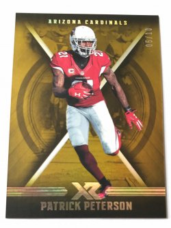 2017 Panini XR Gold Patrick Peterson /10