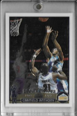 2003-04 Topps Chrome Carmelo Anthony RC