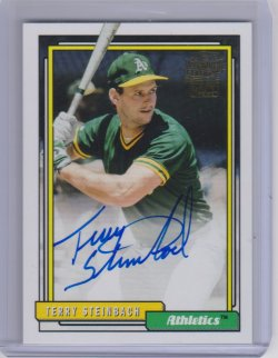 2018 Topps archives terry steinbach