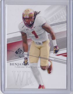 2014 Panini SP Authentic Kelvin Benjamin