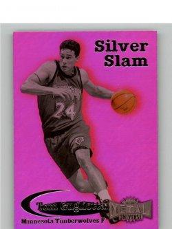 1997 Skybox Metal Universe Silver Slam Tom Gugliotta 14 of 20 SS