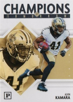 2018 Panini Panini Champions of Tomorrow Alvin Kamara