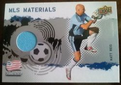 2009 Upper Deck MLS Materials Matt Reis