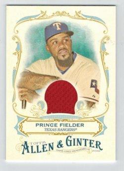 2016  Allen & Ginter Relic (Full Size) Prince Fielder