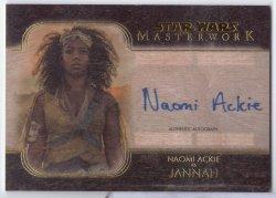 2020 Topps Masterwork NAOMI ACKIE (JANNAH)