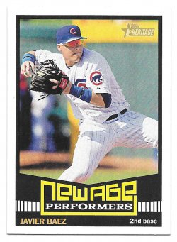 2015 Topps Topps Heritage New Age Performers Javier Baez