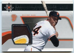 2004 Upper Deck Ultimate Collection Willie McCovey Ultimate Game Patch