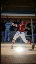 Chris Shaw 8x10 Photo IP Autograph