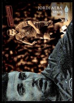 2016-17 Panini Aficionado Jordi Alba