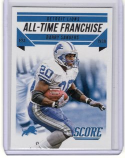 2015 Score All-Time Franchise Barry Sanders