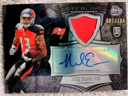 2014 Bowman Sterling Mike Evans Autographed Rookie Relics