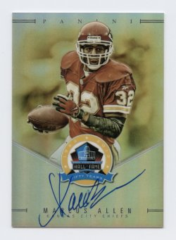 2019 Panini Spectra Hall Of Fame Autographs #MA Marcus Allen/50