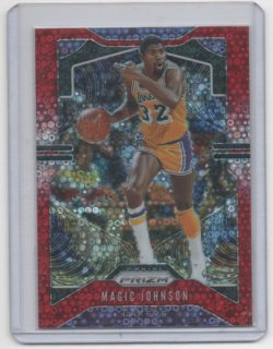 2019 Panini Prizm Magic Johnson red choice