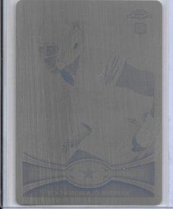 2012 Topps Chrome Black Printing Plate - Morris Claiborne
